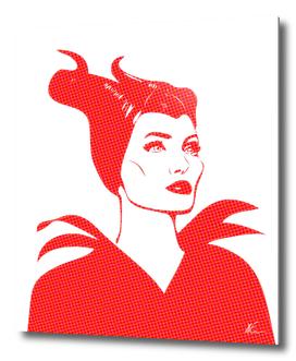 Maleficent | Pop Art