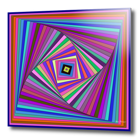 Multicolored rotating Squares
