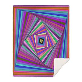 Multicolored rotating Squares
