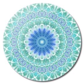 Blue & Turquoise Mandala