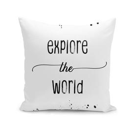 TEXT ART Explore the world