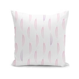 Geometric Feather Pattern - Pink & Purple #447