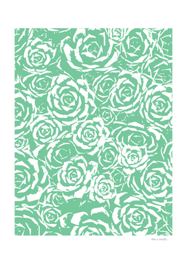 Succulent Stamp - Light Green #524
