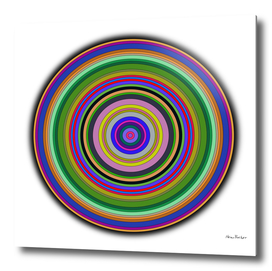 Concentric colorful Circles