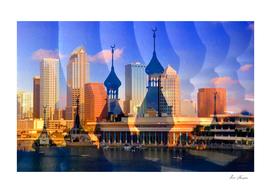 Tampa Florida city of Bays