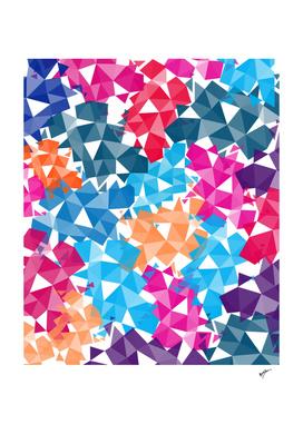 Background of geometric shapes II