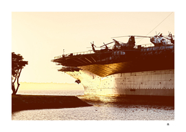 USS Midway Vintage