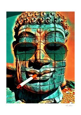 SMOKING BUDDHA