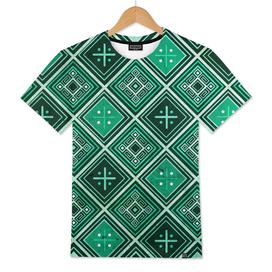 Indigenous ethnic pattern design illustration