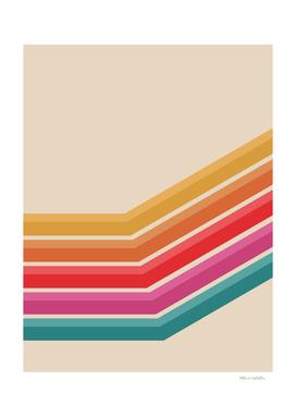 Retro Pattern - Steep Uphill #639