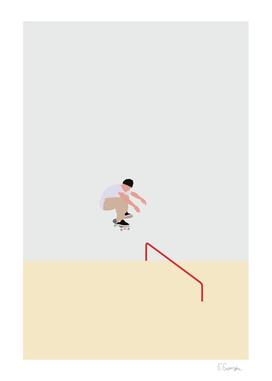 Skateboarding No.01