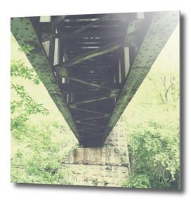 Under the Train Trestle