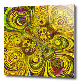 Circular Sunflower