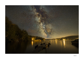 Lac Simon Milky Way