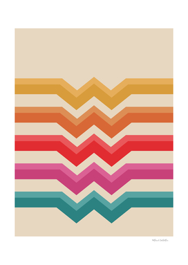Retro Pattern - Valleys #818