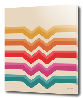 Retro Pattern - Valleys #818