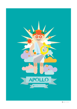 Cute Greek Mythology Apollo