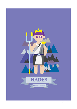 Cute Greek Mythology Hades