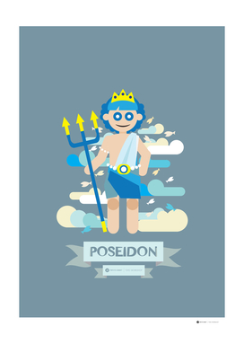 Cute Greek Mythology Poseidon