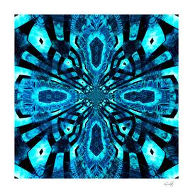 blue land mandala