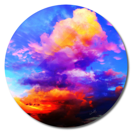 colorful clouds cb