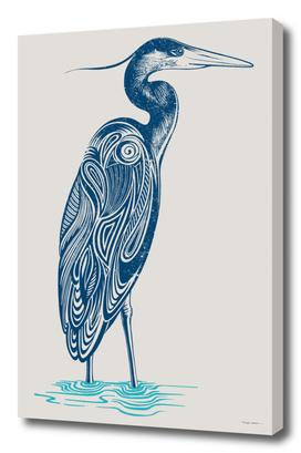 Blue Heron Dream