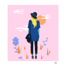 The Artistic Girl