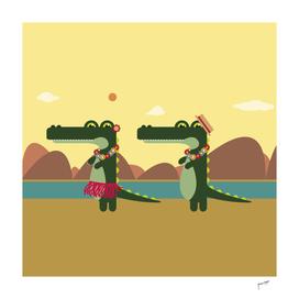 Hula Hula Crocodiles