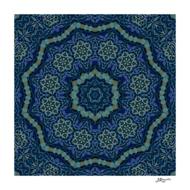 Vio-Blue Mandala