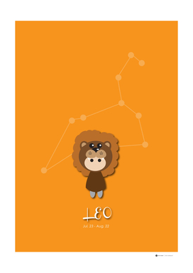 12 Constellation Character Leo