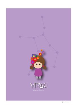 12 Constellation Character Virgo