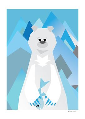 Mr. Bear Series Polar Bear