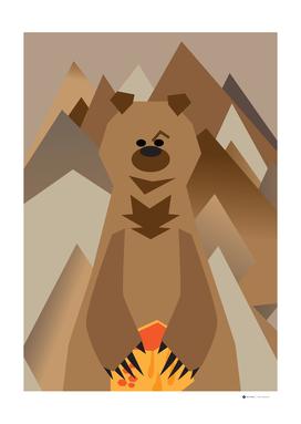 Mr. Bear Series Brown Bear