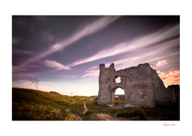 Pennard castle Gower Swansea