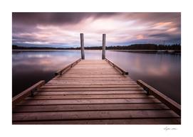 Comox lake Vancouver island