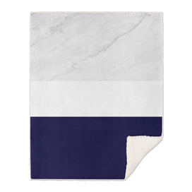 marble royal blue stripes