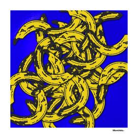 Banana Rama Blue