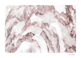 White and Pink Marble 11