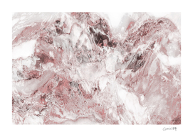 White and Pink Marble 15