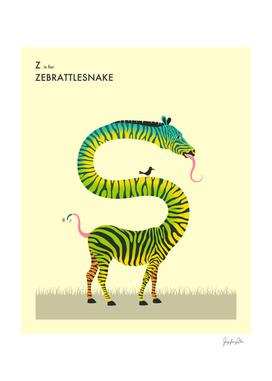 Z is for Zebrattlesnake