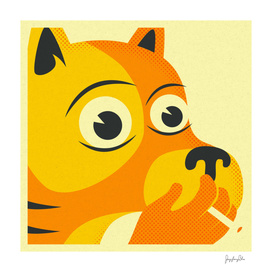 Smoking Dog
