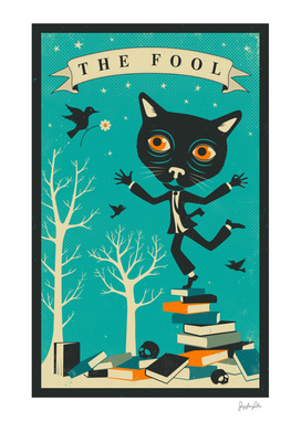 Tarot Card Cat: The Fool