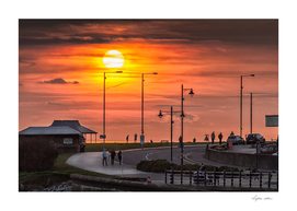 Sunset at Porthcawl