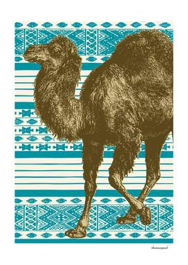 Bazaar Camel Teal