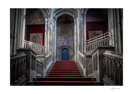 Margam Castle staircase