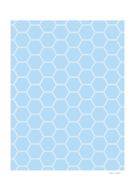 Honeycomb - Light Blue #304