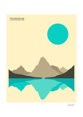 Glacier National Park (Two Medicine Lake)