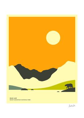 Rocky Mountain National Park (Bear lake)