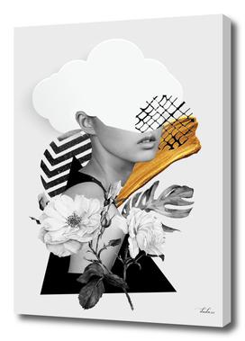 collage art (girl)