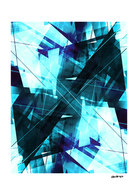 Iceless - Geometric Abstract Art